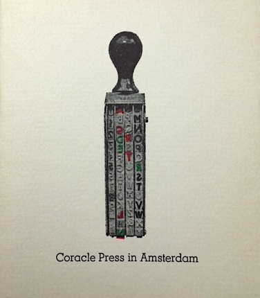 Coracle Press in Amsterdam